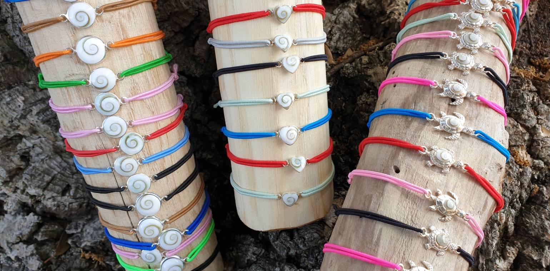 Bijoux fantaisies Oeil de Sainte Lucie