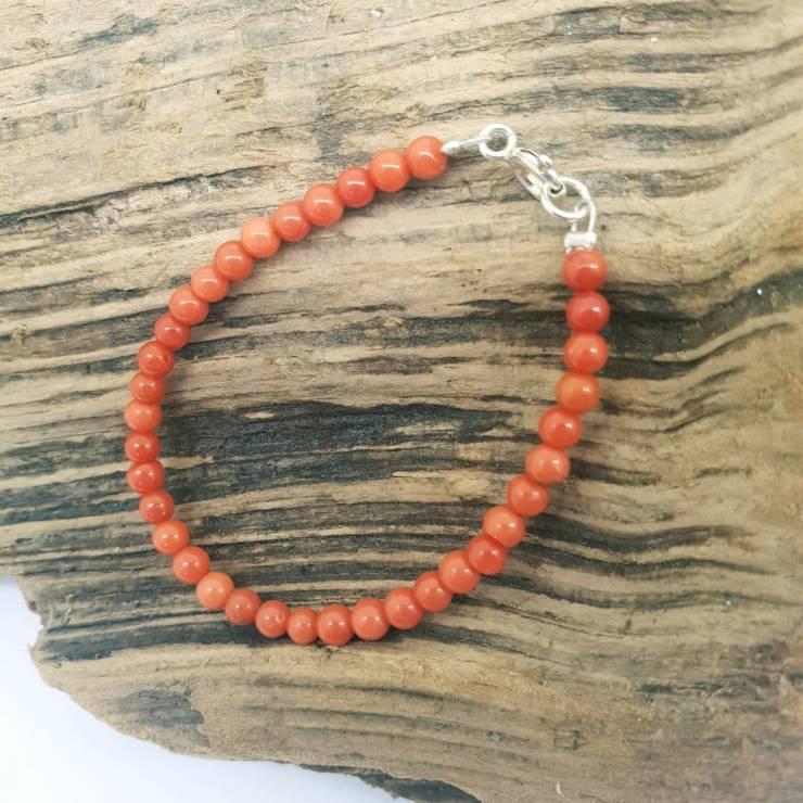 Bracelet BABY corail rouge