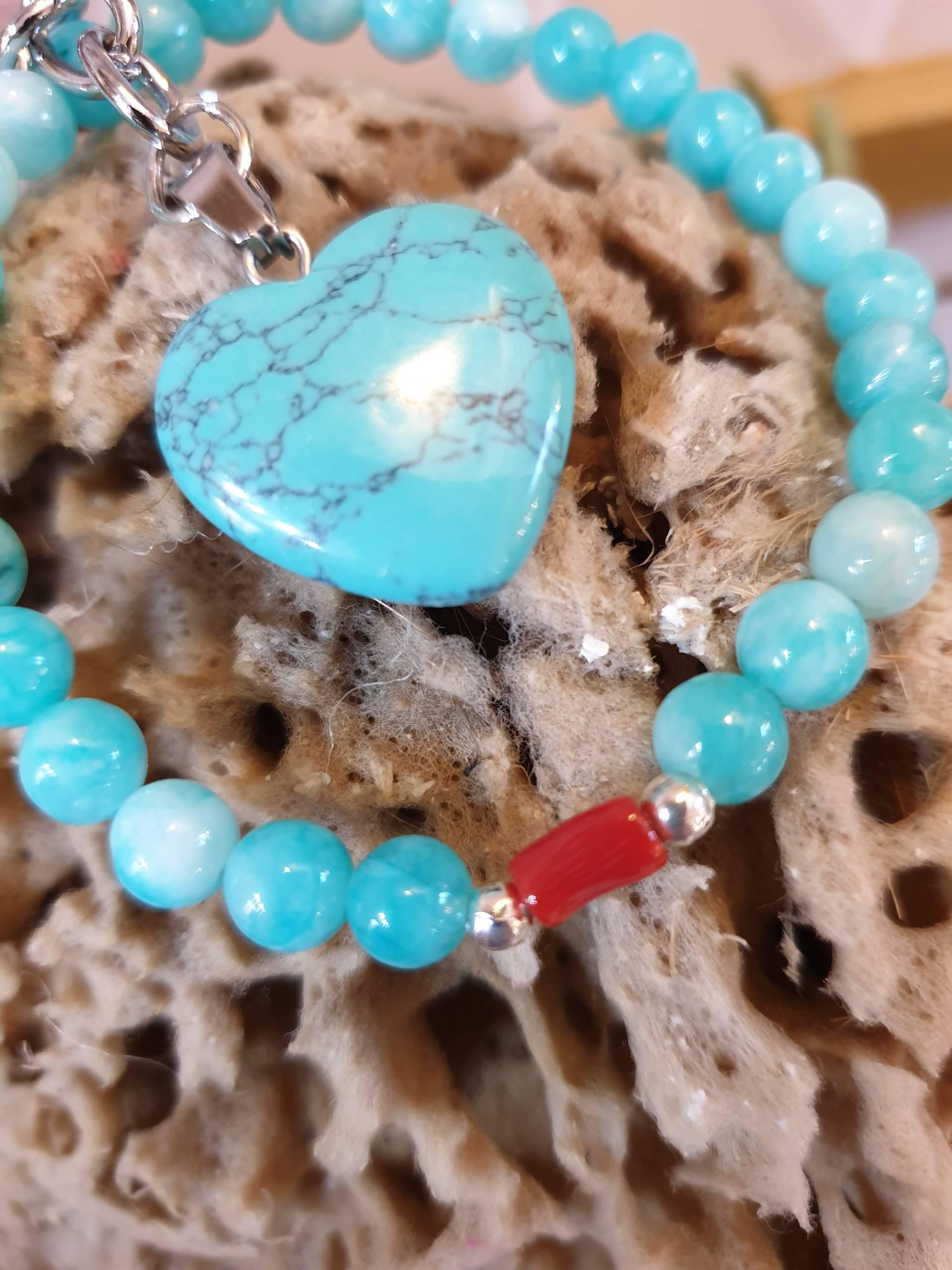 Bijoux perles en pierres naturelles véritable