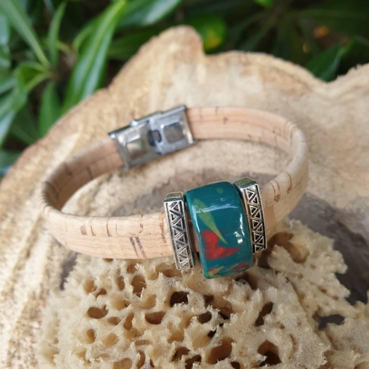 Bracelet liège naturel