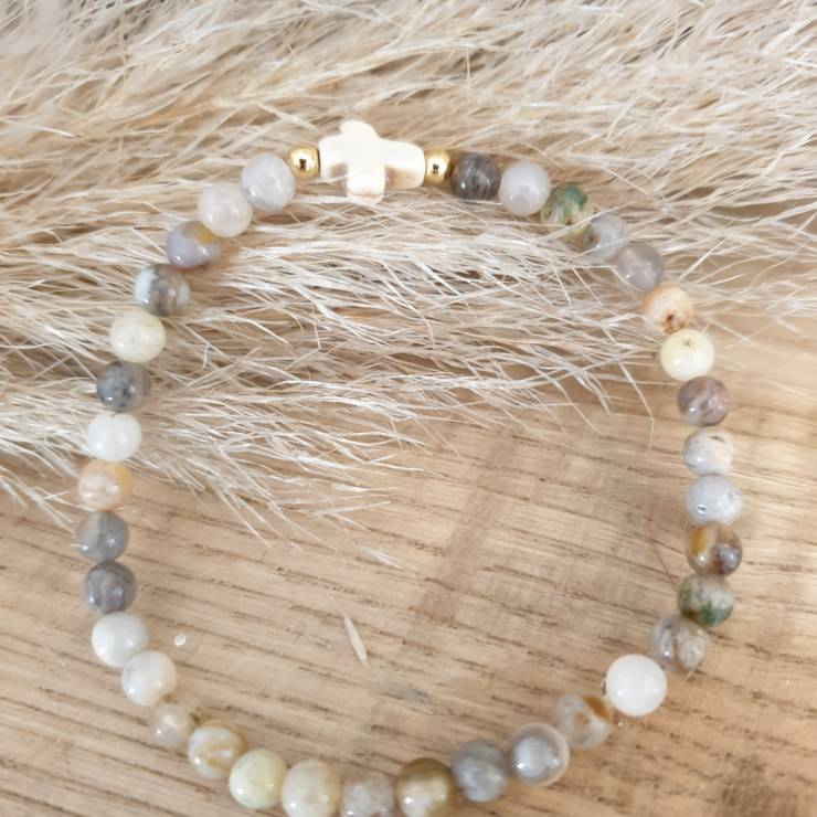Bracelet pierres naturelles cornaline
